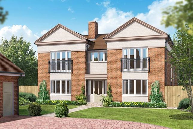 "Thumbnail Detached house for sale in ""The Watersfield"" at Kings Drive, Midhurst"