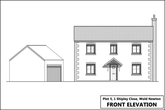 Thumbnail Detached house for sale in Plot 5, Laking Lane, Wold Newton, Driffield