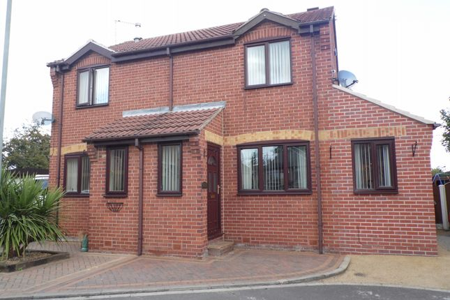 Thumbnail Semi-detached house for sale in Millside Court, Bentley, Doncaster