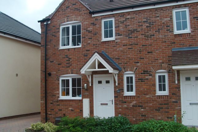 Thumbnail Semi-detached house for sale in Kingcup Close, Catshill, Bromsgrove