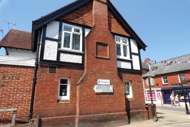 Thumbnail Flat to rent in High Street, Lyndhurst
