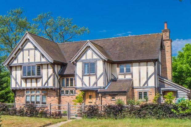 Thumbnail Detached house for sale in Eden Harlands, Upper Basildon