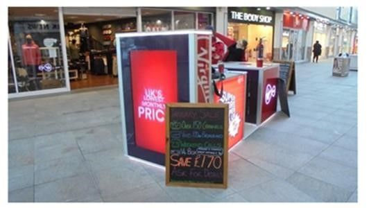 Thumbnail Retail premises to let in Mall Kiosk, Ropewalk Shopping Centre, Nuneaton
