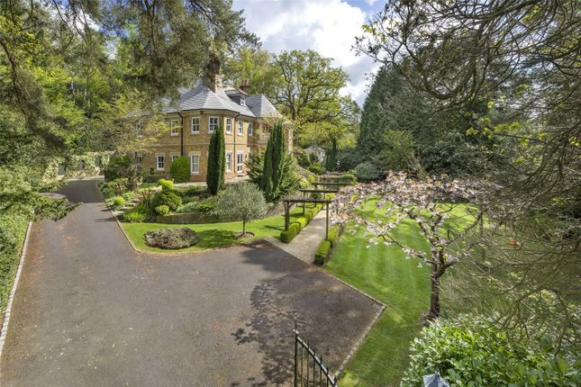 Detached house for sale in Woodlands Road West, Wentworth Estate, Virginia Water, Surrey