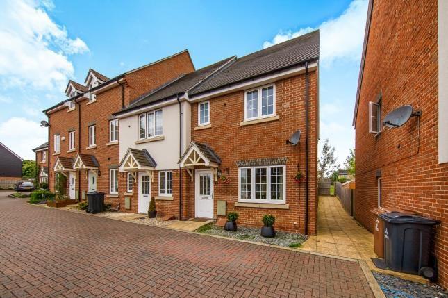 Thumbnail End terrace house for sale in Pembridge Gardens, Stevenage, Hertfordshire, England