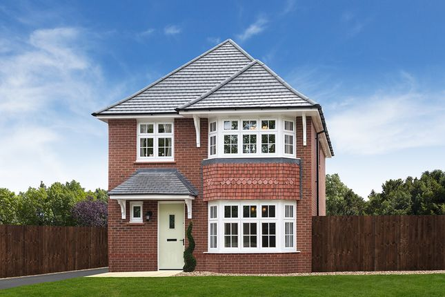 "Thumbnail Detached house for sale in ""Stratford"" at Ledsham Road, Little Sutton, Ellesmere Port"