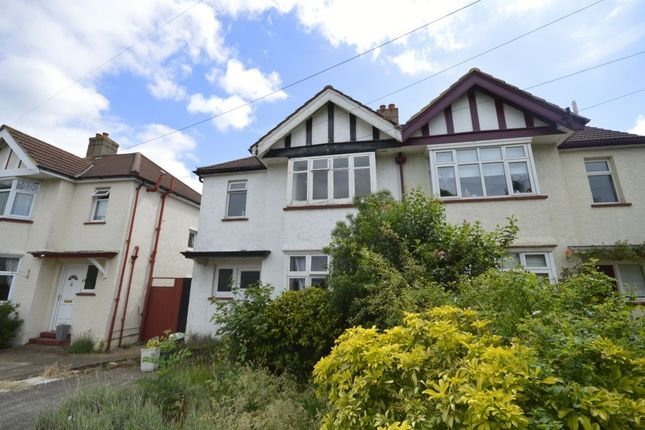 Thumbnail Semi-detached house to rent in Kingsmead Avenue, Tolworth, Surbiton