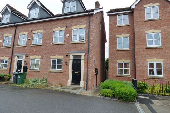 Thumbnail Town house for sale in Ned Ludd Close, Anstey