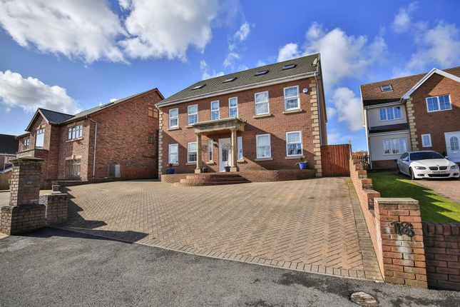 Thumbnail Detached house for sale in Aber Llwchwr, Llangennech, Llanelli