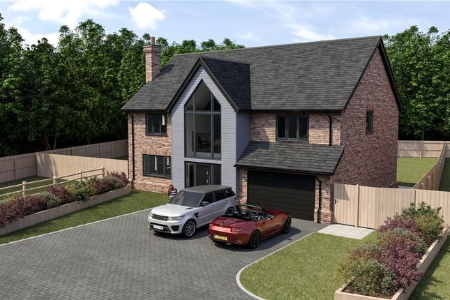 Thumbnail Detached house for sale in Chestnut Gardens, Raunds, Wellingborough