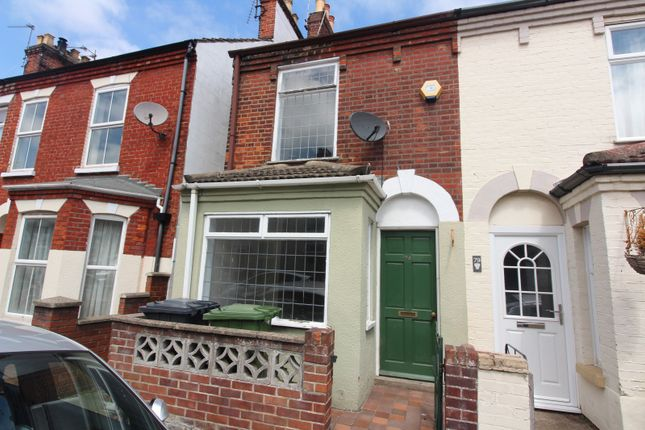Thumbnail End terrace house to rent in Upper Cliff Road, Gorleston