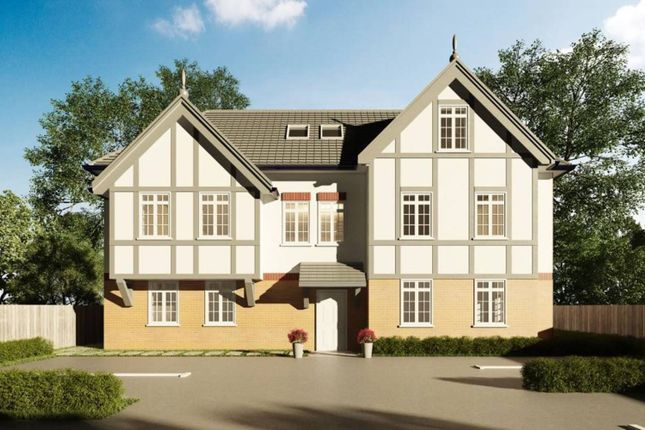 Thumbnail 2 bed flat for sale in Green Lane, Purley Way, Purley