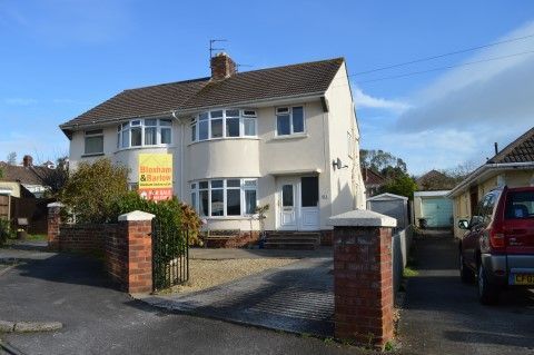 Thumbnail Semi-detached house for sale in Drysdale Close, Weston-Super-Mare