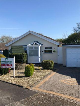 Thumbnail Detached bungalow for sale in Clos Llandyfan, Garden Village
