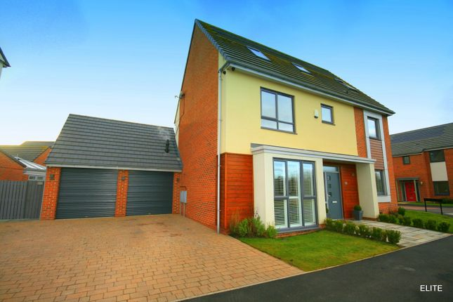 Thumbnail Detached house for sale in Whitworth Park Drive, Houghton Le Spring
