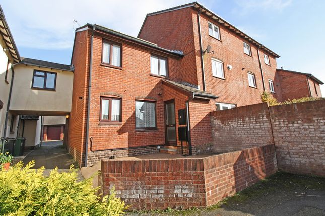 1 bed end terrace house for sale in Nurseries Close, Topsham, Exeter