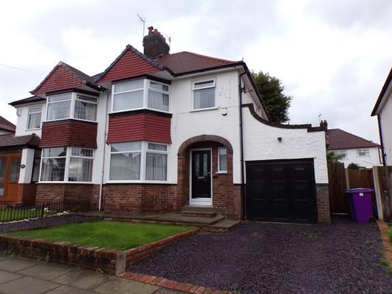 Thumbnail Semi-detached house for sale in Babbacombe Road, Childwall, Liverpool, Merseyside