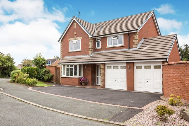 Thumbnail Detached house for sale in Beech Close, Congleton