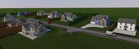 Thumbnail Detached house for sale in Cefn Farm Development, Rhydargaeau, Carmarthen
