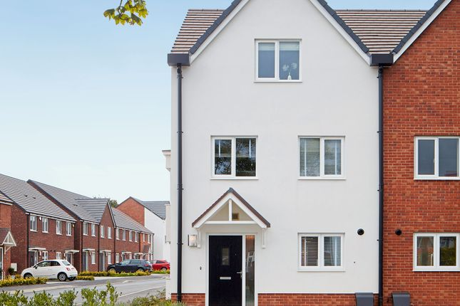 """3 bed town house for sale in """"The Hancock"""" at York Road, Hall Green, West Midlands, Birmingham B28"""