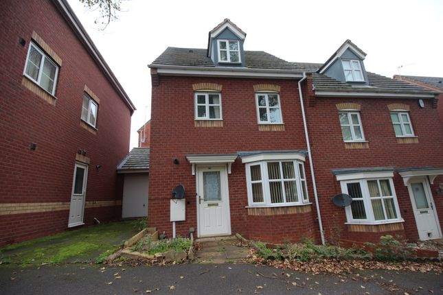 Thumbnail Terraced house to rent in Mundesley Road, Hamilton