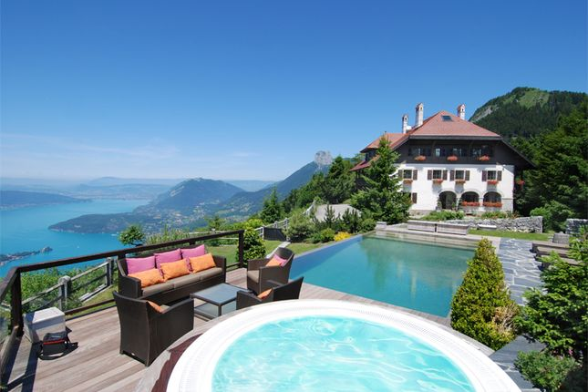 Thumbnail Detached house for sale in Lake Annecy, Montmin, Faverges, Annecy, Haute-Savoie, Rhône-Alpes, France