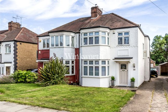 Thumbnail Semi-detached house for sale in Hadley Way, London