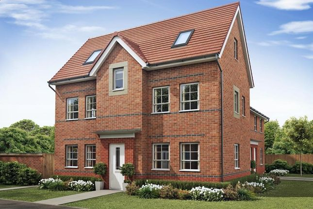 """4 bedroom semi-detached house for sale in """"Hesketh"""" at The Ridge, London Road, Hampton Vale, Peterborough"""
