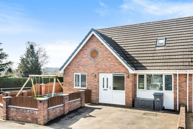 Thumbnail Semi-detached house for sale in Guidfa Meadows, Crossgates, Llandrindod Wells