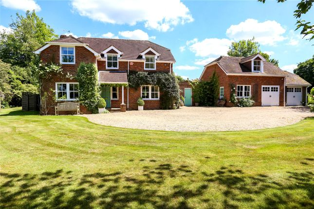 Thumbnail Detached house for sale in Trinity Road, Parish Of Bentworth, Medstead, Alton, Hampshire