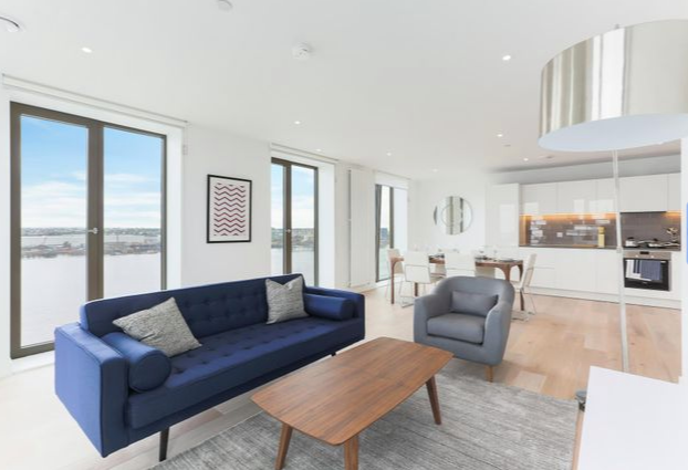 Thumbnail Flat for sale in North Woolwich Road, Royal Docks, London