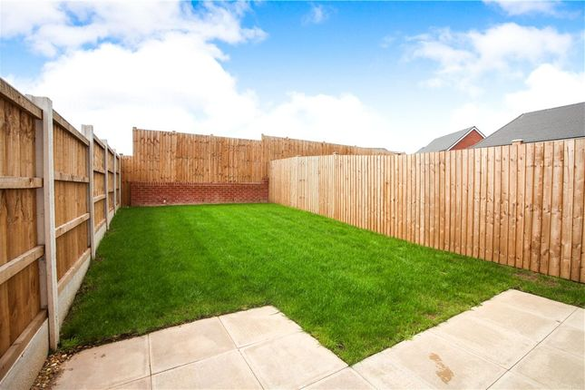 Garden of 10 Parks Close, Hartford, Northwich CW8