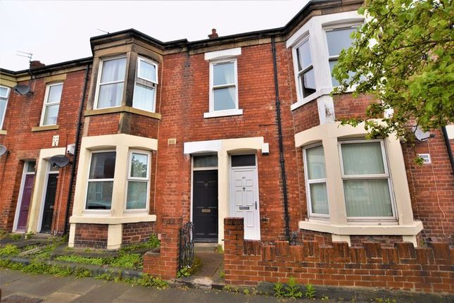 Thumbnail 3 bedroom flat for sale in King John Terrace, Heaton, Newcastle Upon Tyne