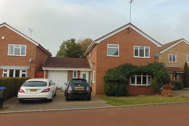 Thumbnail Detached house to rent in Fiensegate, Northampton