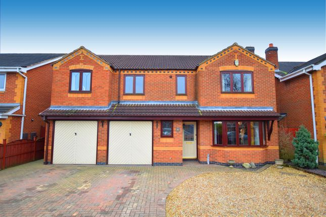 Thumbnail Detached house for sale in Sovereign Way, Heanor