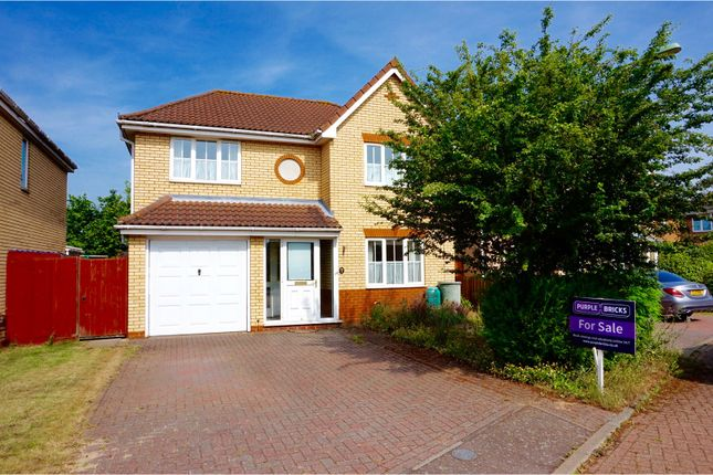Thumbnail Detached house for sale in Cherry Blossom Close, Ipswich