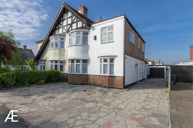 Thumbnail Semi-detached house to rent in The Fairway, Bromley, Kent