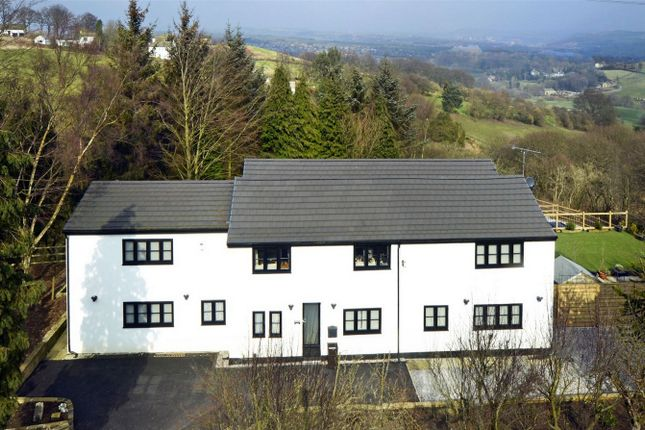 Thumbnail Detached house for sale in Old Lindley, Halifax, West Yorkshire