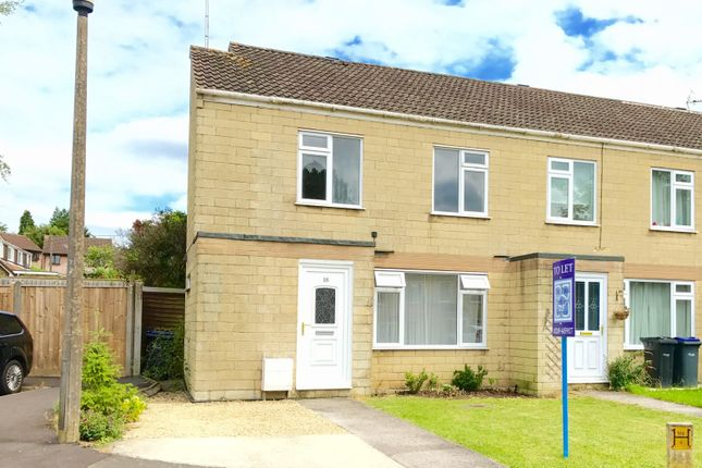 Thumbnail End terrace house to rent in St. Peters Close, Chippenham