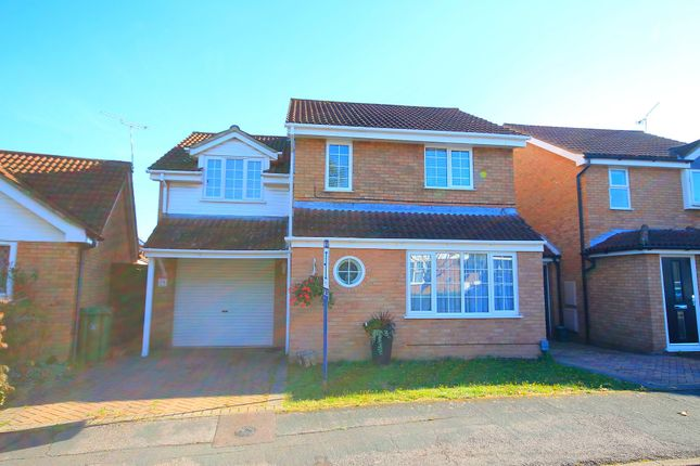 Thumbnail Link-detached house for sale in Sandringham Way, Frimley, Camberley