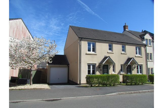 Thumbnail Semi-detached house for sale in Buzzard Road, Tavistock