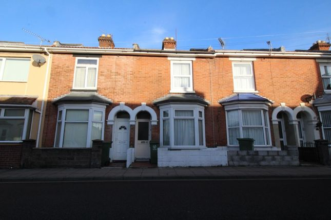 Thumbnail Terraced house to rent in Jessie Road, Southsea