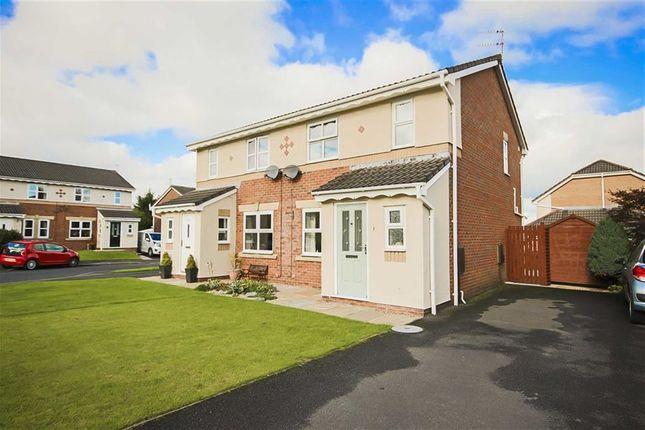 Thumbnail Semi-detached house for sale in Henfield Close, Accrington, Lancashire