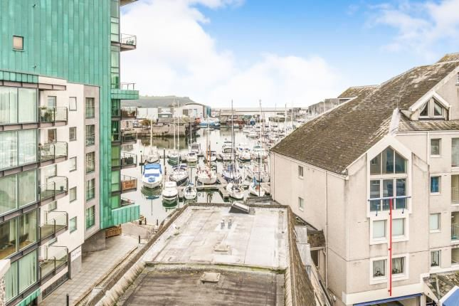 Thumbnail Flat for sale in Mariners Court, Sutton Harbour, Plymouth