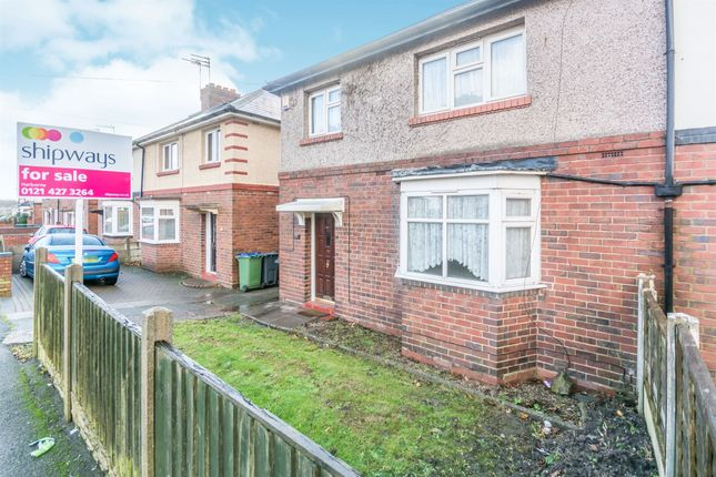 Thumbnail Semi-detached house for sale in George Road, Oldbury