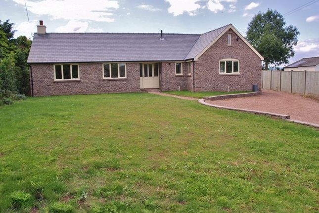 Thumbnail Detached bungalow to rent in Kings Caple, Hereford
