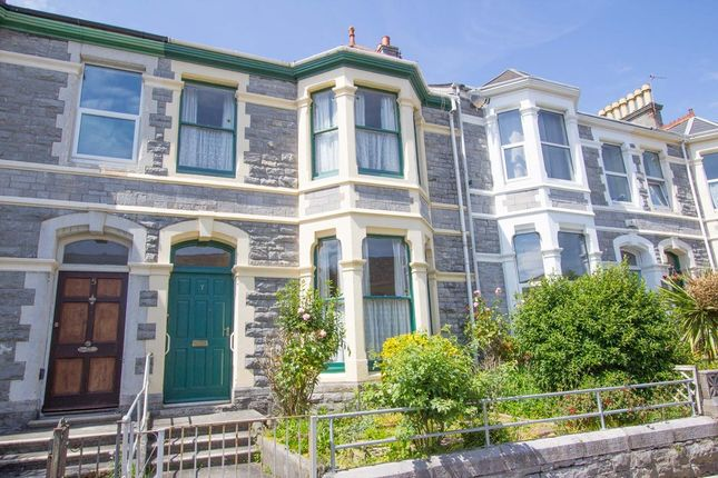 Thumbnail Terraced house for sale in Carlton Terrace, Lipson, Plymouth