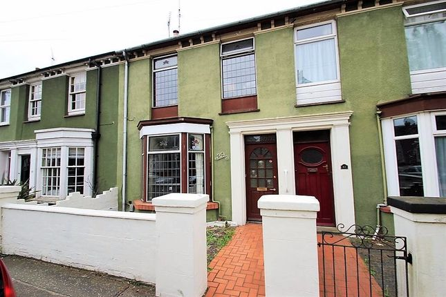 Thumbnail Terraced house to rent in Meyrick Crescent, Colchester