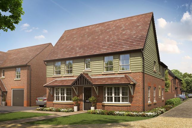 "Thumbnail Detached house for sale in ""Alnwick"" at Rykneld Road, Littleover, Derby"