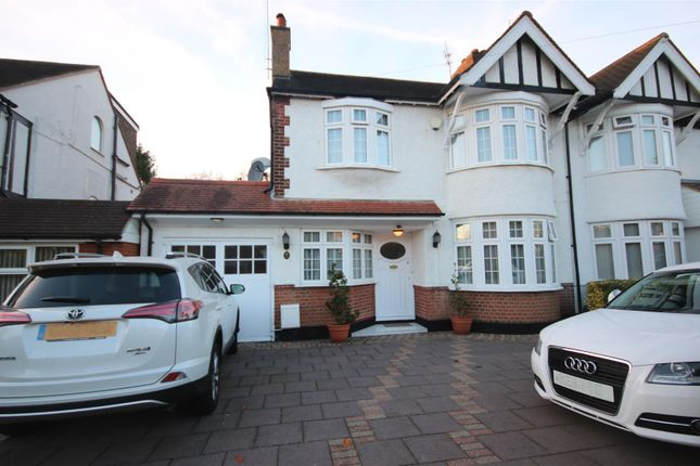 Thumbnail Semi-detached house for sale in Belmont Avenue, Cockfosters, Barnet